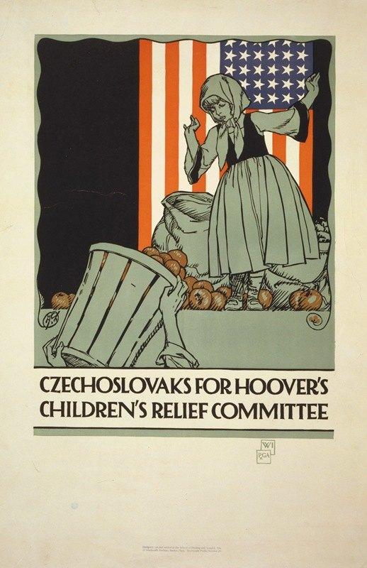Vojtech Preissig - Czechoslovaks for Hoover's children's relief committee