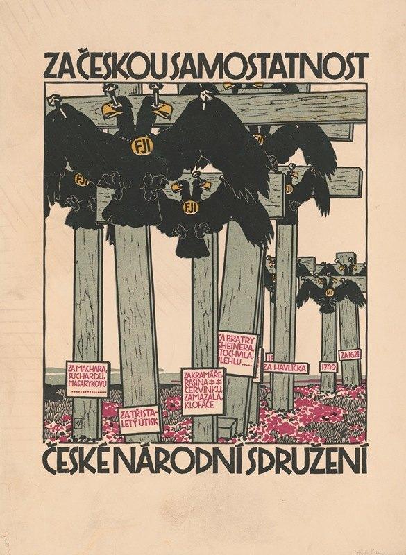Vojtech Preissig - Za ceskou samostatnost, Ceske narodni sdruzeni