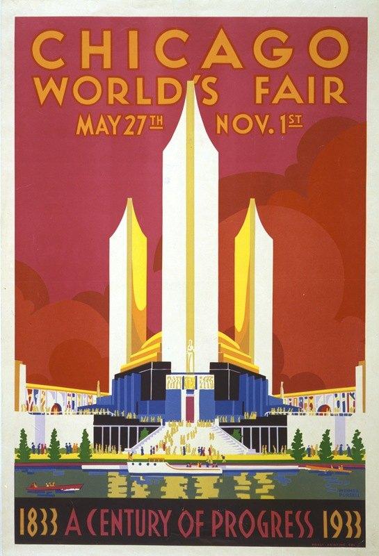 Weimer Pursell - Chicago world's fair. A century of progress