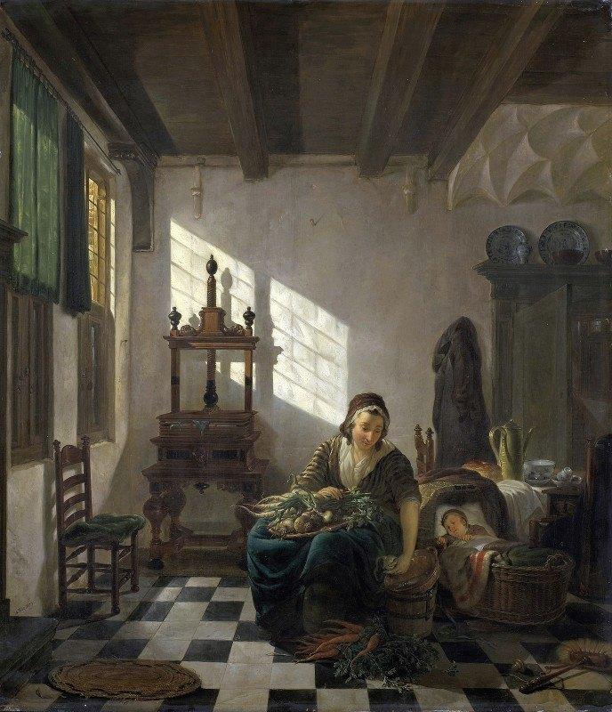 Abraham Van Strij - The Housewife