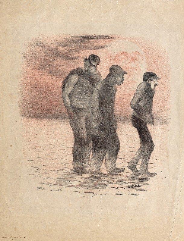 Adolphe Léon Willette - Paris Scenes and Murderers