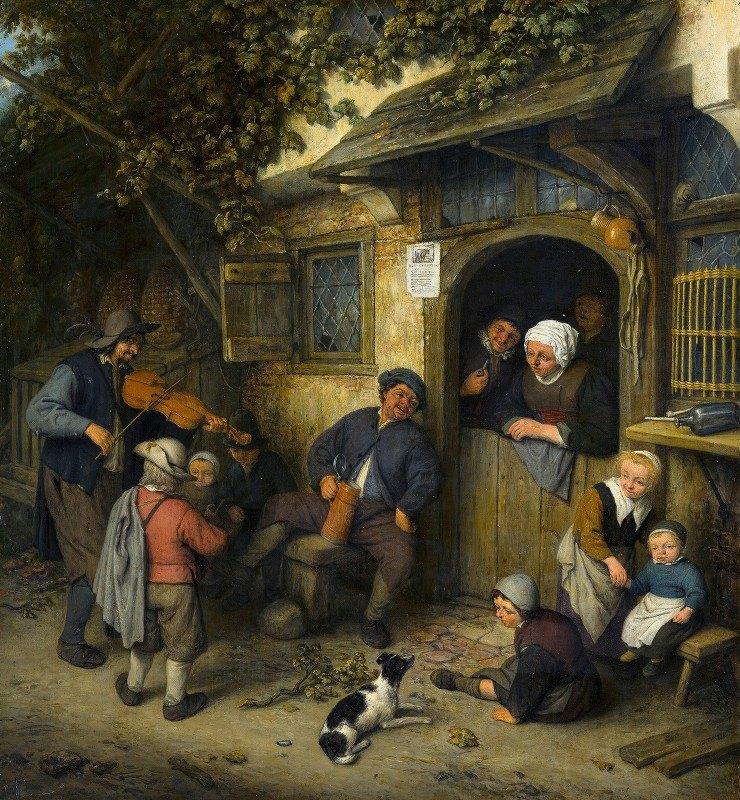 Adriaen van Ostade - The Fiddler
