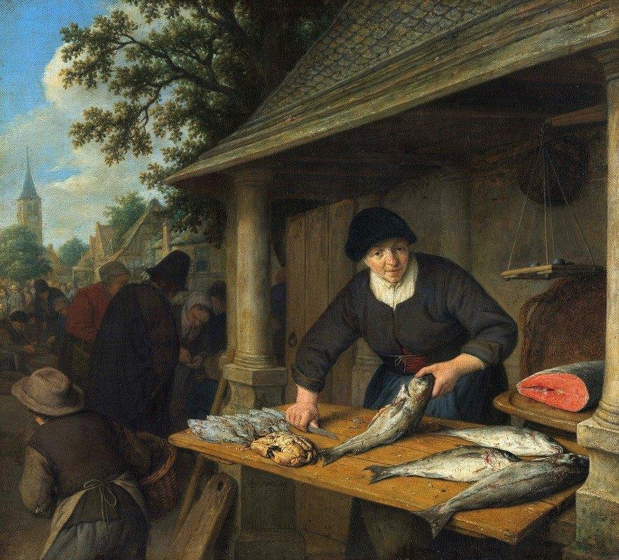 Adriaen van Ostade - The Fishwife