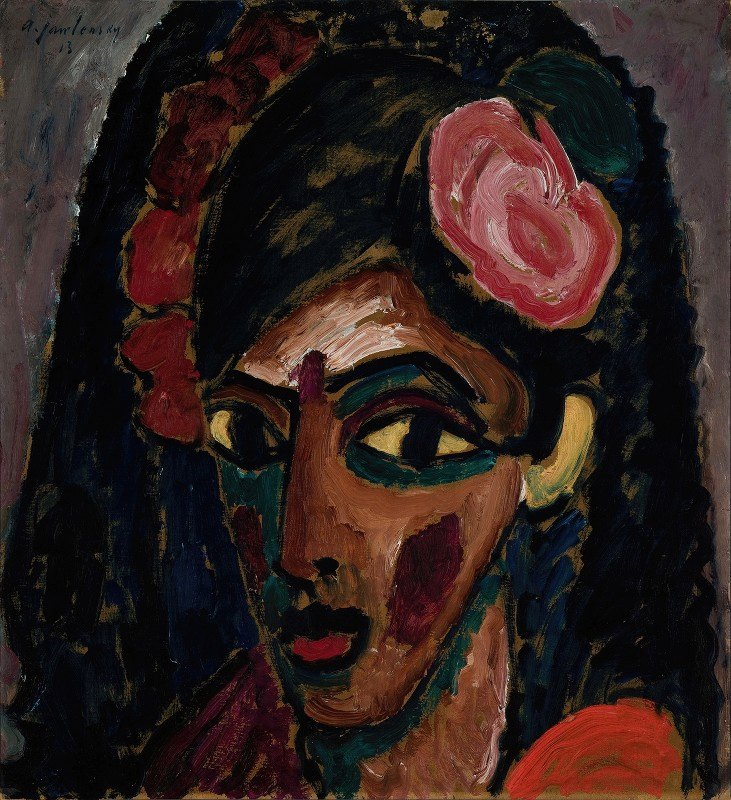 Alexej von Jawlensky - Egyptian Girl