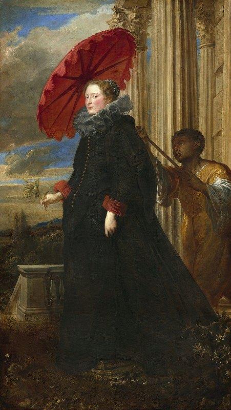 Anthony van Dyck - Marchesa Elena Grimaldi Cattaneo