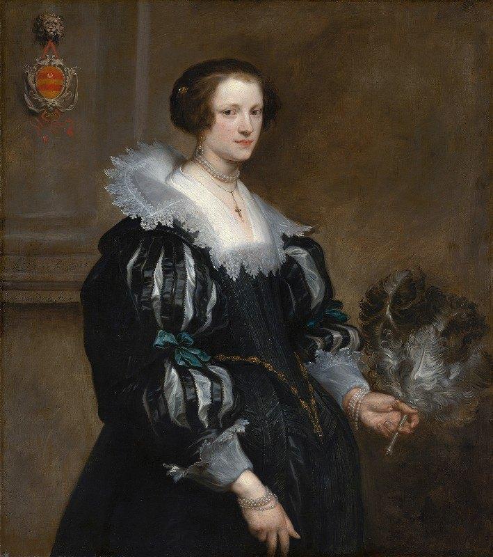 Anthony van Dyck - Portrait of Anna Wake