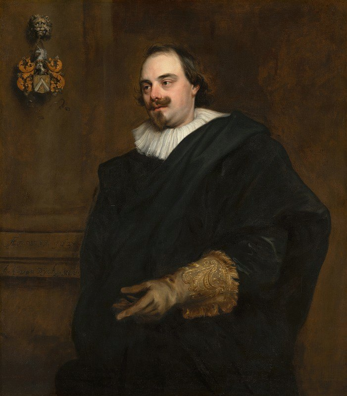 Anthony van Dyck - Portrait of Peeter Stevens
