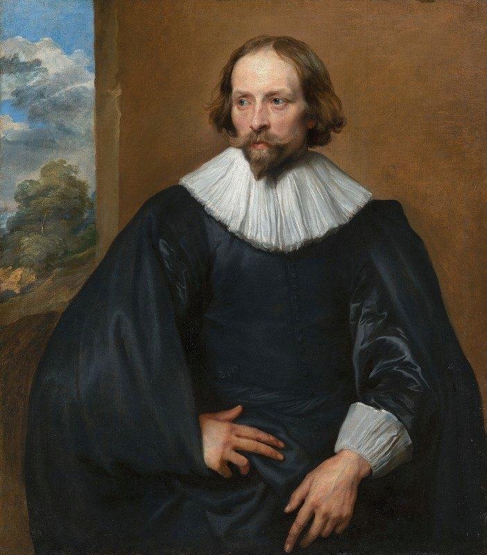 Anthony van Dyck - Portrait of Quintijn Symons