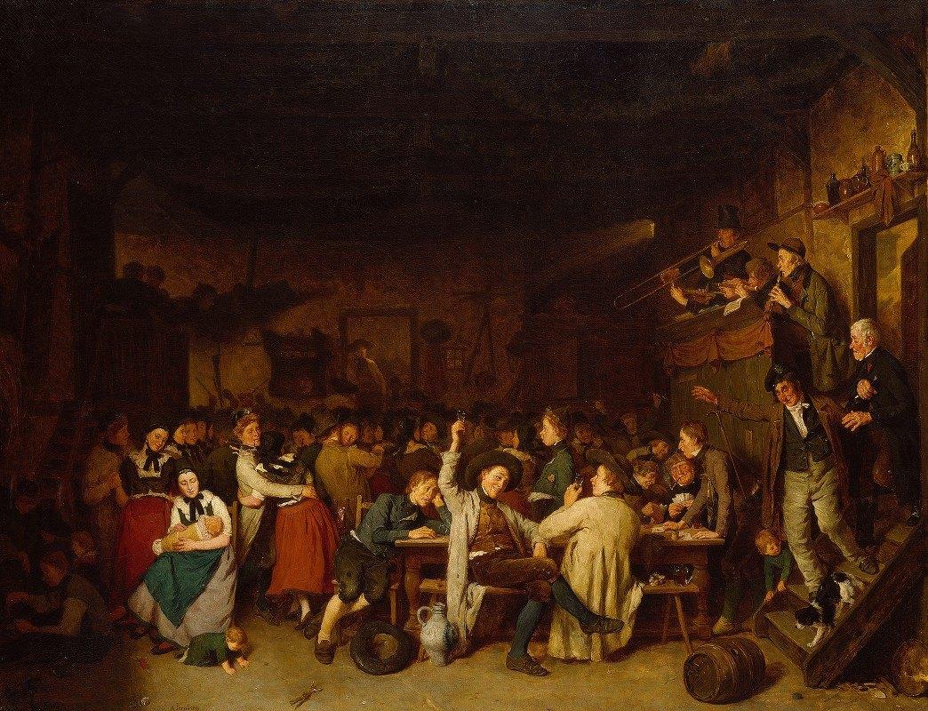 August Jernberg - Westphalian Peasants' Revels