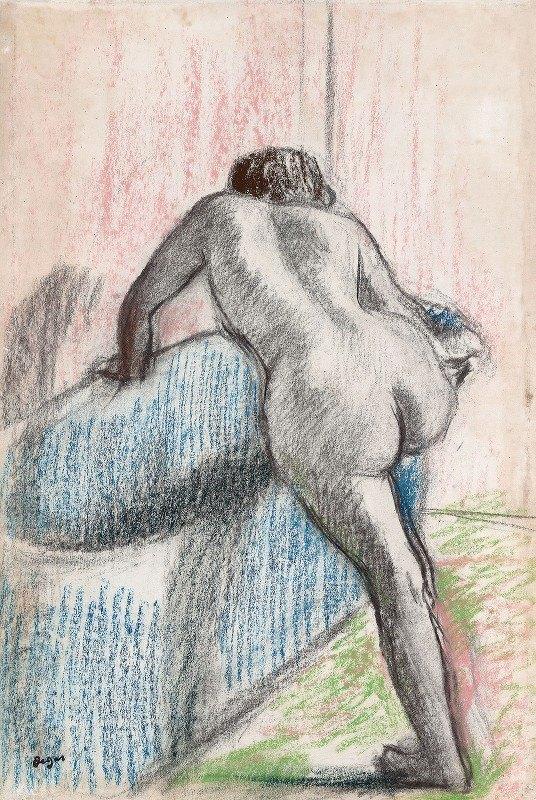 Edgar Degas - The Bath