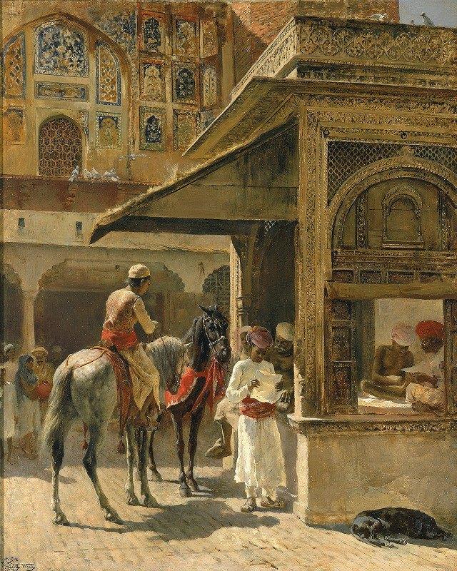 Edwin Lord Weeks - Hindu Merchants
