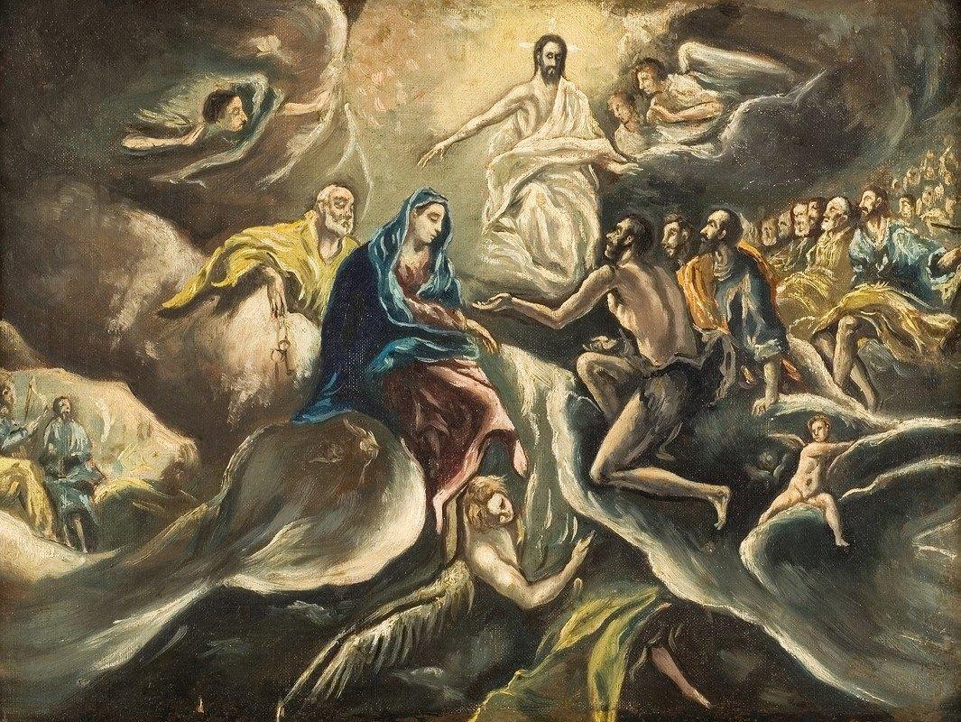El Greco (Domenikos Theotokopoulos) - Count Orgaz' funeral