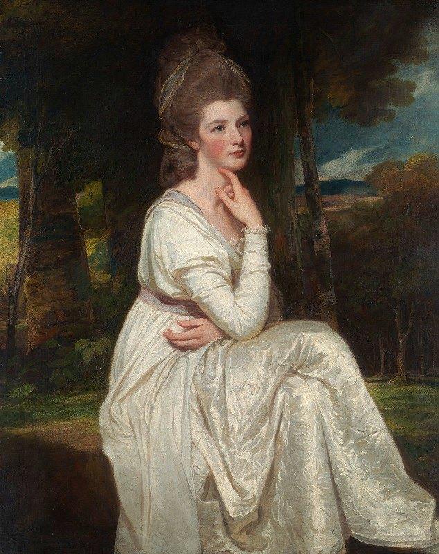 George Romney - Lady Elizabeth Stanley (1753–1797), Countess of Derby