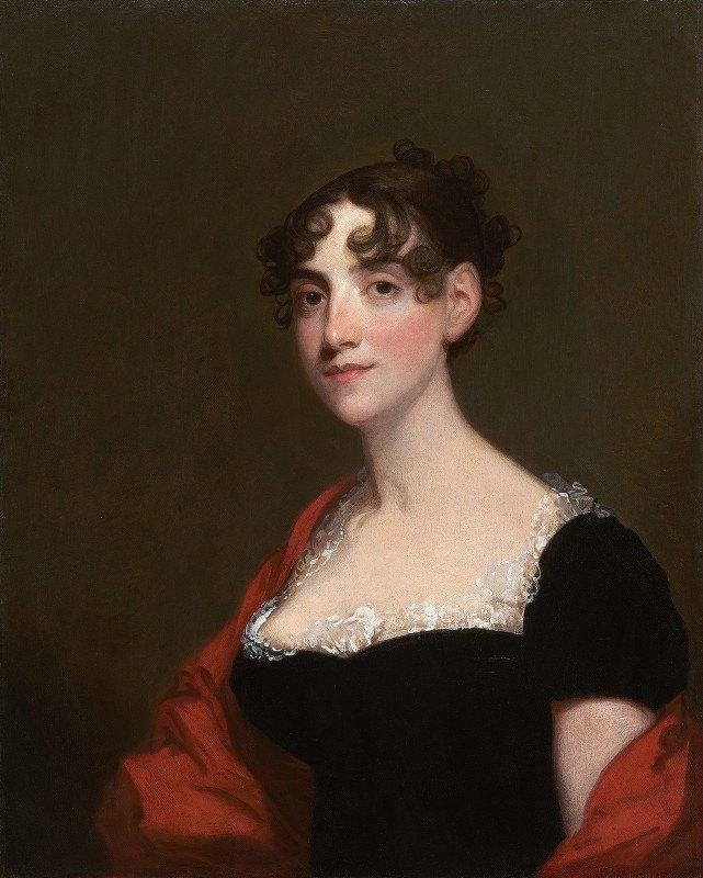 Gilbert Stuart - Ann Calvert Stuart Robinson (Mrs. William Robinson)