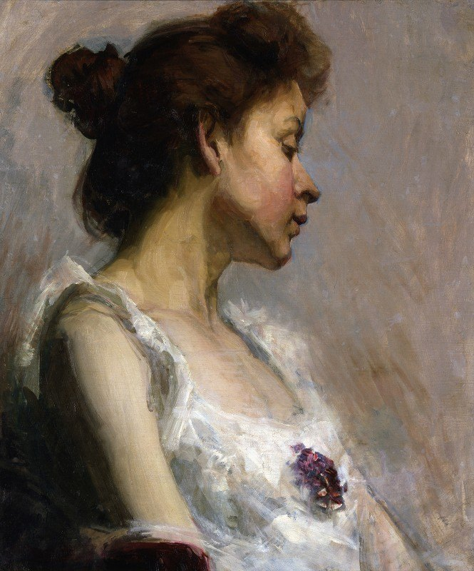 Henry Ossawa Tanner - Portrait of the Artist's Wife