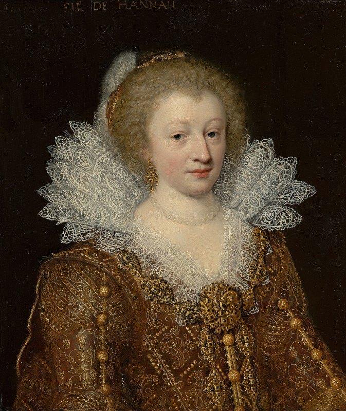 Jan Anthonisz van Ravesteyn - Portrait of Catharina Belgica