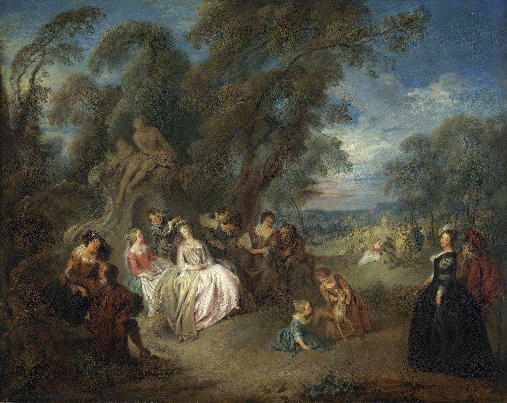 Jean-Baptiste Pater - Fête Champêtre