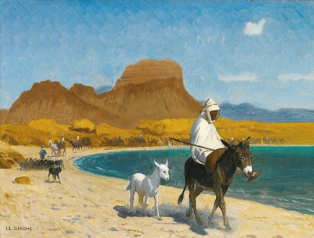 Jean-Léon Gérôme - Golfe D'Akaba