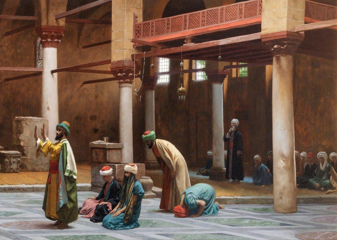 Jean-Léon Gérôme - Prayers In The Mosque