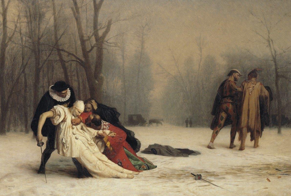 Jean-Léon Gérôme - The Duel After the Masquerade