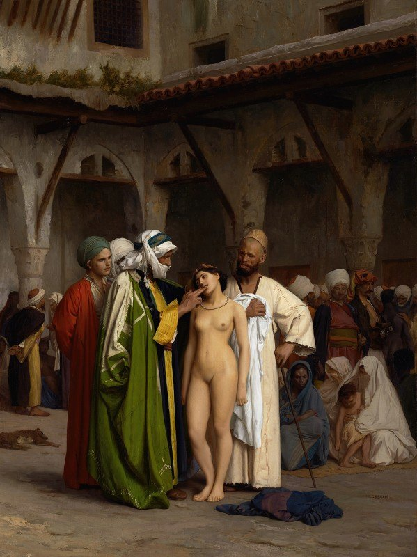 Jean-Léon Gérôme - The Slave Market
