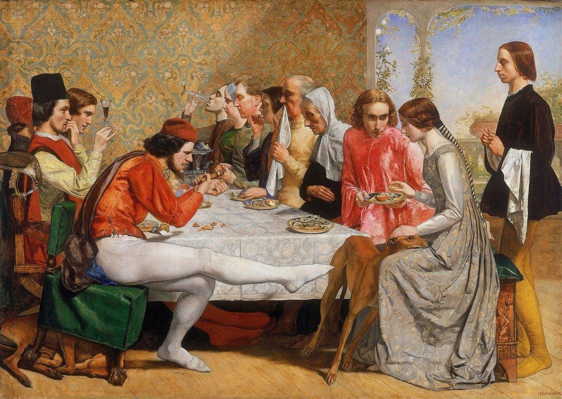 Sir John Everett Millais - Lorenzo and Isabella