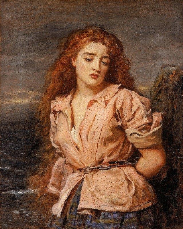 Sir John Everett Millais - The Martyr of the Solway