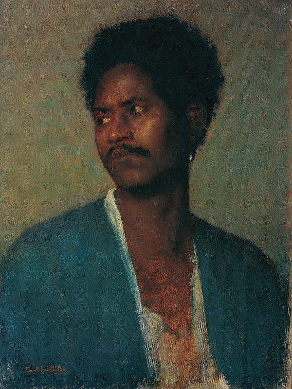 Leopold Carl Müller - A Nubian