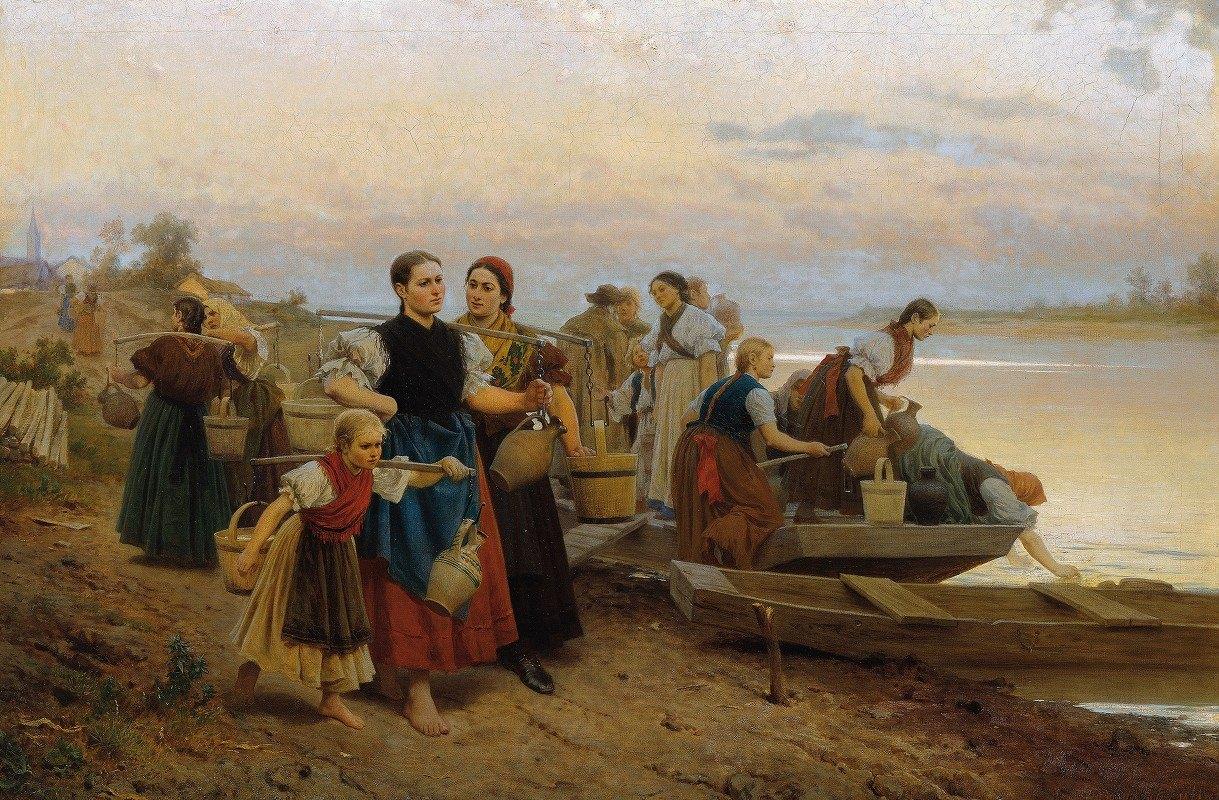 Leopold Carl Müller - The last day's effort