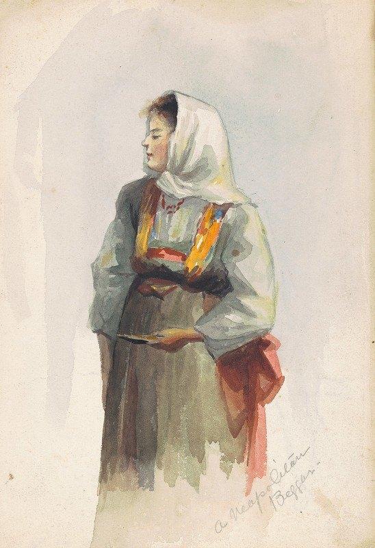 Marietta Minnigerode Andrews - A Neopolitan Beggar