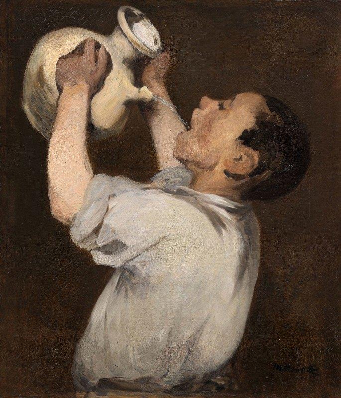 Nicolas Bernard Lépicié - Boy with Pitcher (La Régalade)
