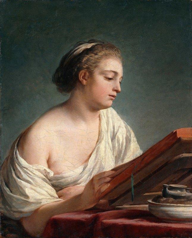 Nicolas Bernard Lépicié - Woman Reading