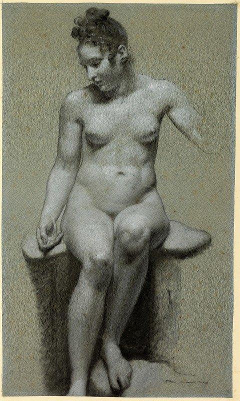 Pierre-Paul Prud'hon - Seated Female Nude