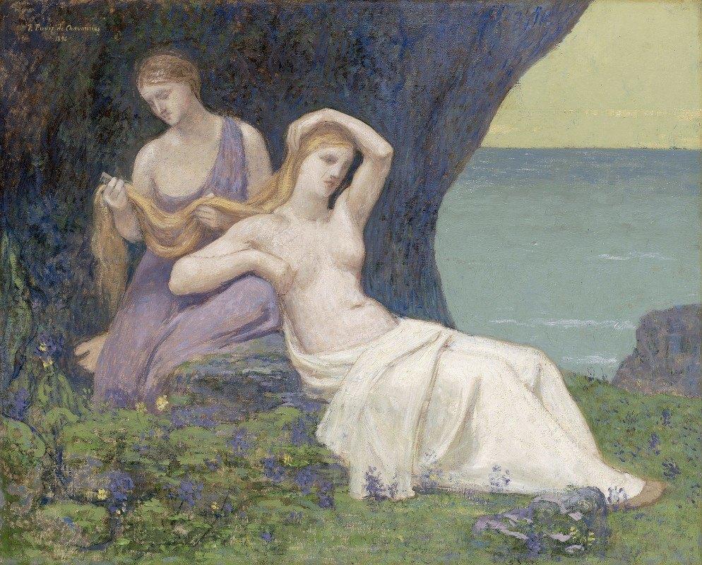 Pierre Puvis de Chavannes - In the Heather