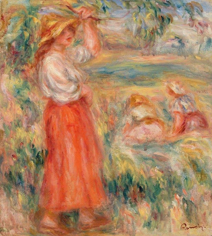 Pierre-Auguste Renoir - Women in the Fields (Femmes aux champs)