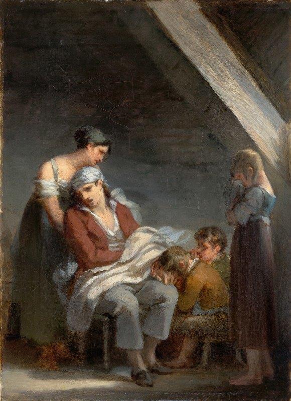 Pierre-Paul Prud'hon - Une Famille dans la désolation (A Grief-StrickenFamily)