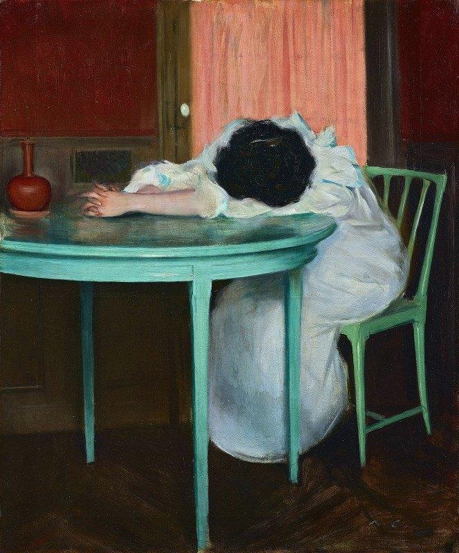 Ramón Casas - Tired