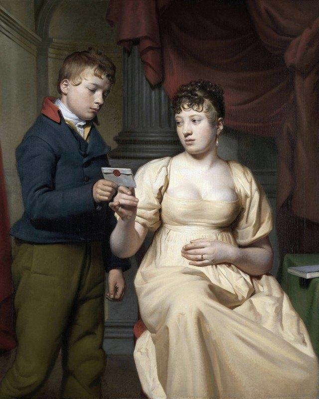Willem Bartel van der Kooi - The Love Letter