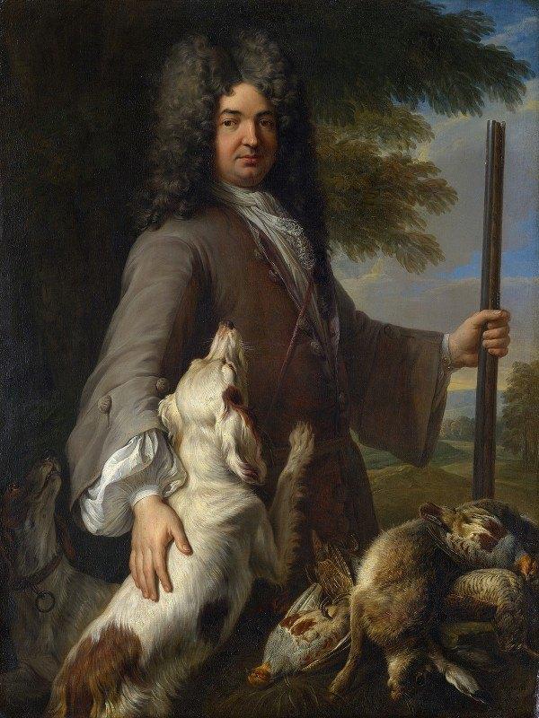 Alexandre François Desportes - Portrait Of A Hunter