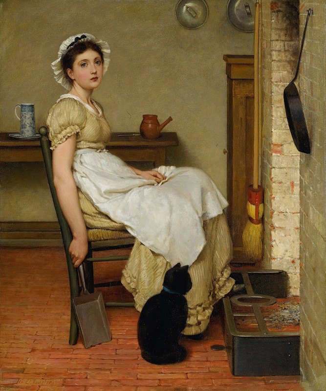 George Dunlop Leslie - Her First Place