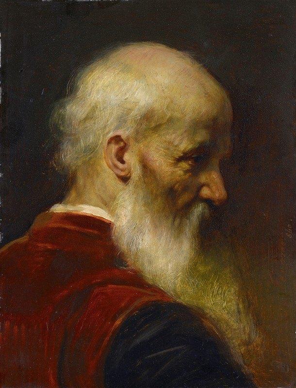 Jean-Léon Gérôme - Head Of An Old Man