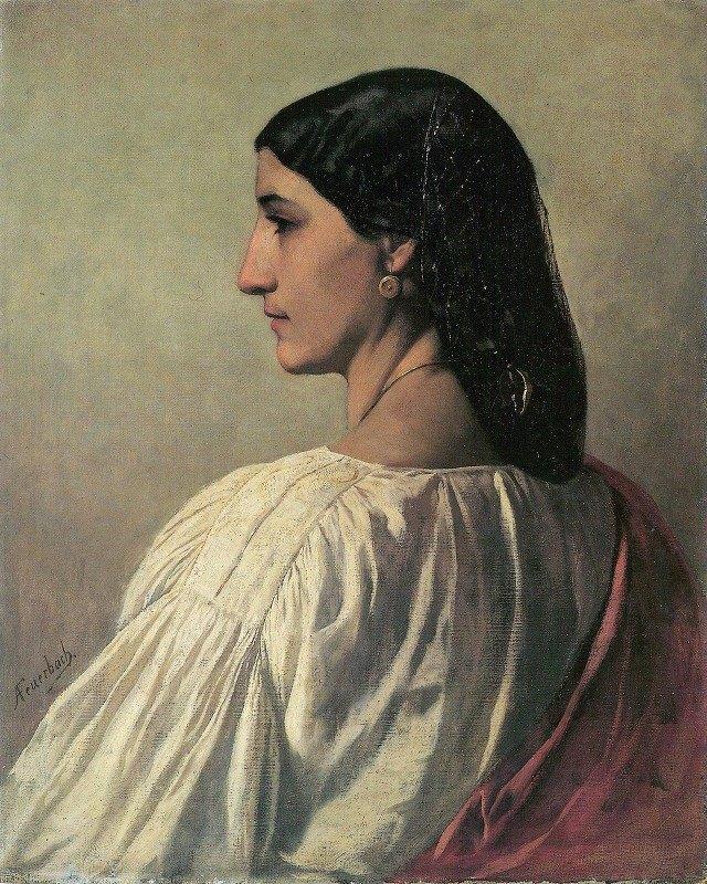 Anselm Feuerbach - Nanna