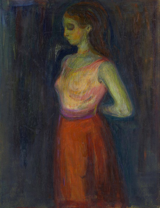 Edvard Munch - Study of a Model