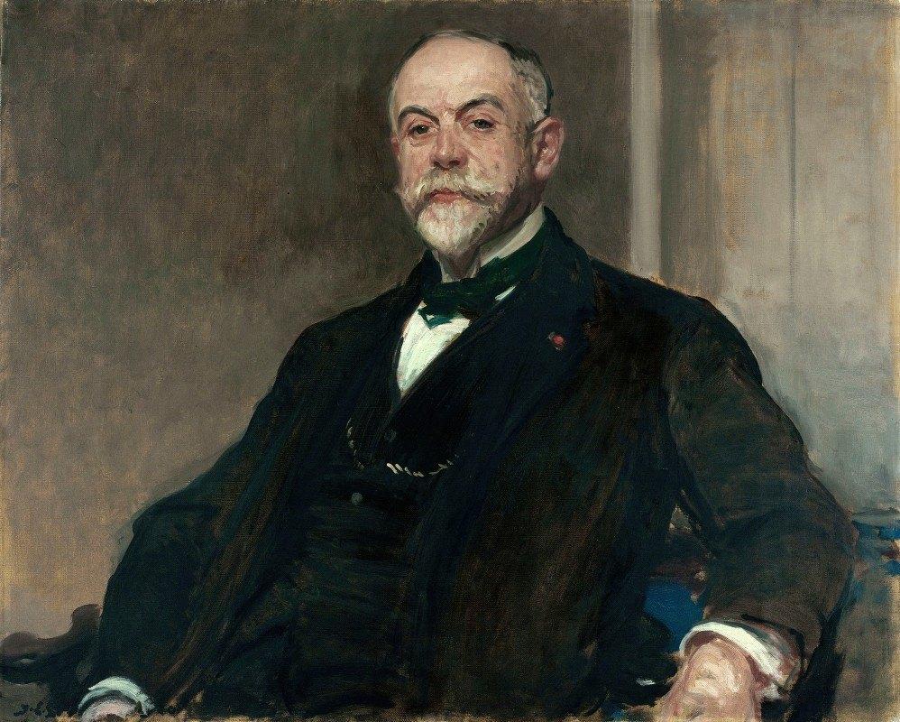 Jacques-Émile Blanche - Portrait de Léon Pissard