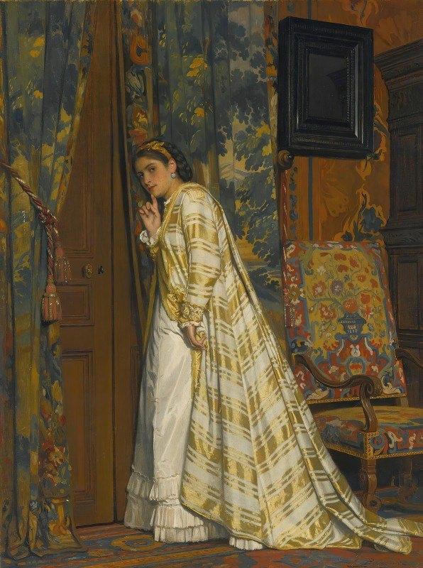 Charles Baugniet - Behind Closed Doors