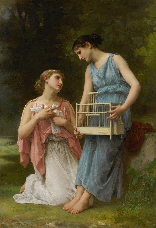 Elizabeth Jane Gardner Bouguereau - La Captive