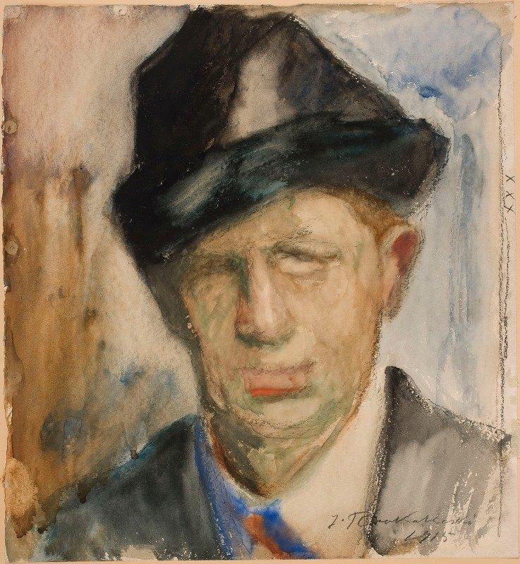 Jalmari Ruokokoski - Self-Portrait