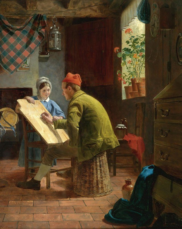 James Collinson - The Writing Lesson