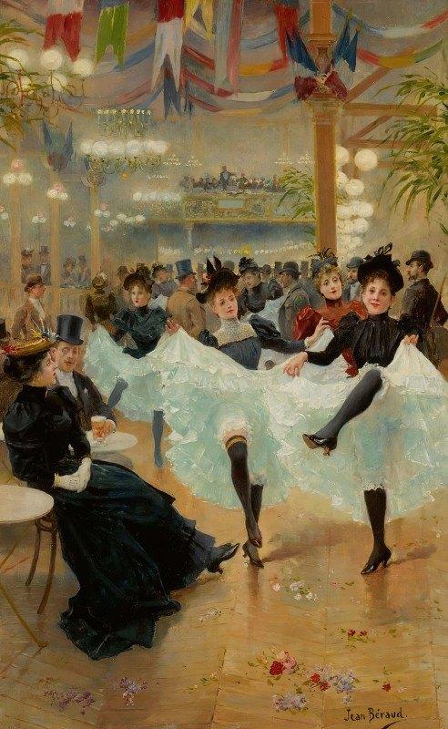 Jean Béraud - Le Café De Paris