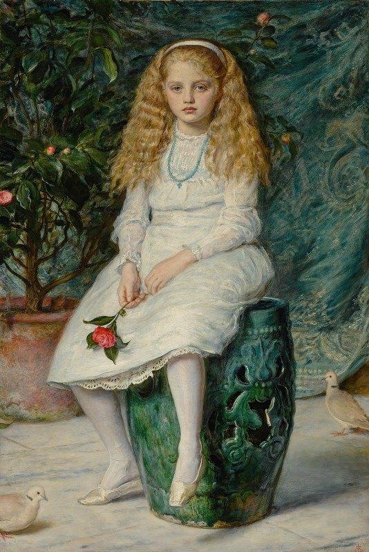 Sir John Everett Millais - Nina, Daughter Of Frederick Lehmann, Esq.